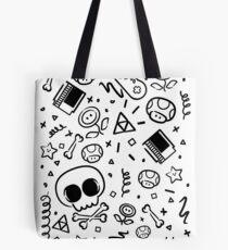 Lluksy Retro Gamer Tote Bag