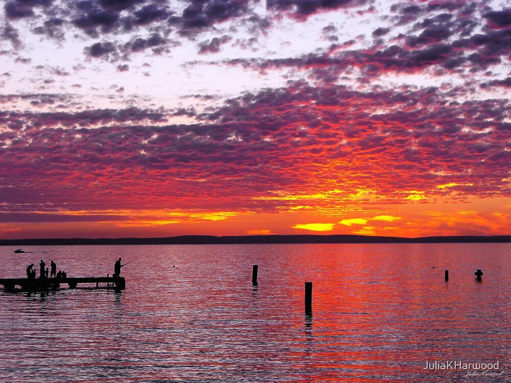 Sunset by JuliaKHarwood