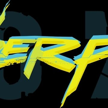 Great cyberpunk 2077 graphic design by teeking86