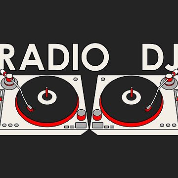 Radio DJ & Turntables by ezcreative