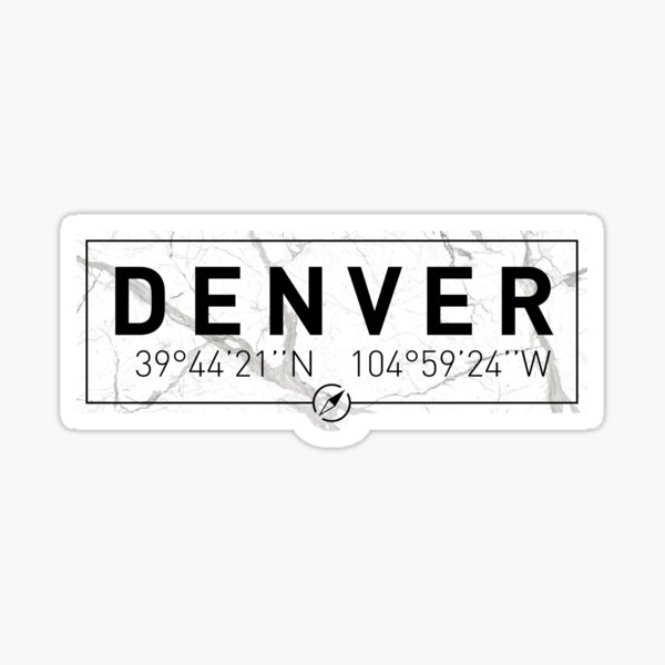 denver geography gifts merchandise redbubble denver geography gifts merchandise redbubble