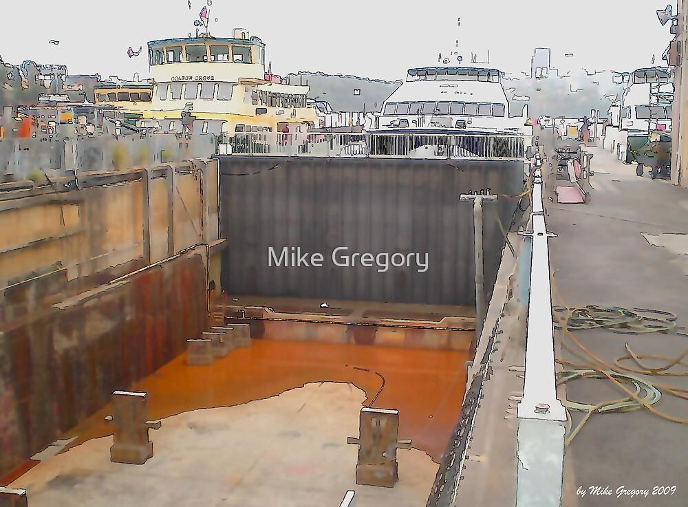 Balmain Shipyard by Mike Gregory