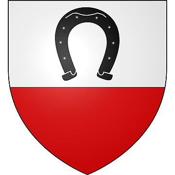French France Coat of Arms 14784 Blason ville fr Rohrwiller Bas Rhin by wetdryvac