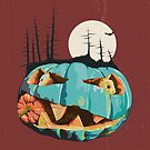 Pumpkin Gnaw by Yvie Johnson