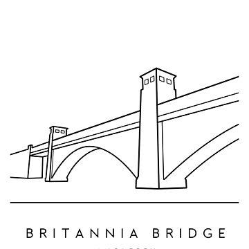 Britannia Bridge - Anglesey by typelab