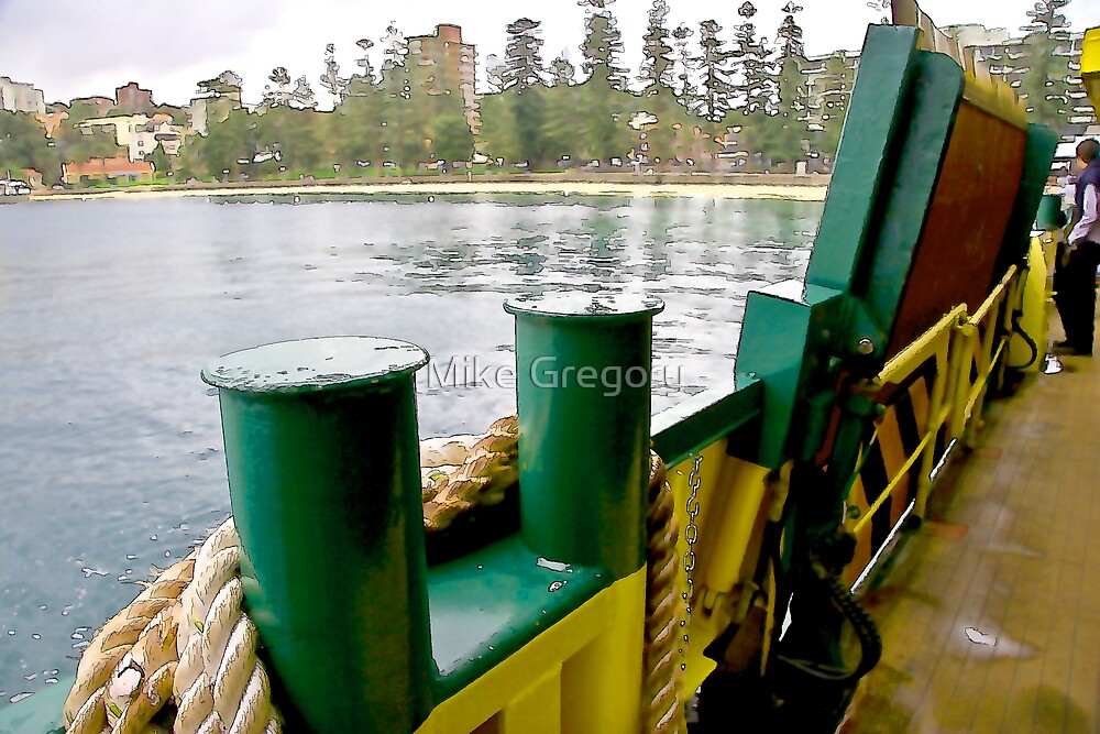 Manly ferry   by Mike Gregory