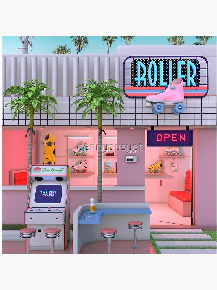 Roller Skate Nostalgia by dennybusyet