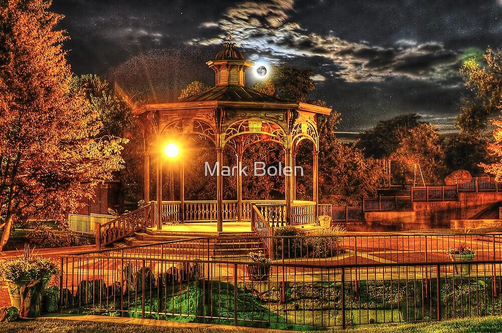 Fenton Gazabo under the Harvest Moon by Mark Bolen