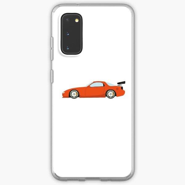 DriveTribe Cartoon Mazda RX7 Samsung Galaxy Soft Case