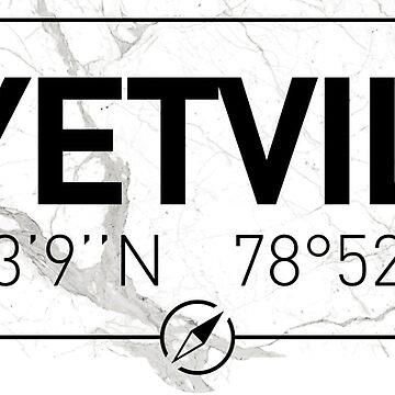 The longitude and latitude of Fayetville by efomylod