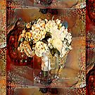 Bunch of Flowers Abstract Painting by RDRiccoboni