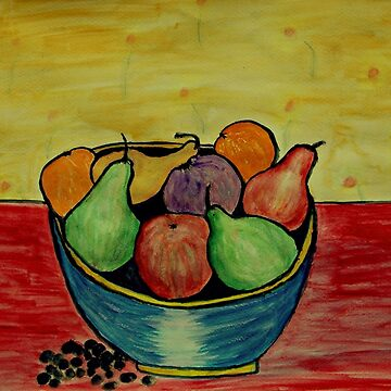 Fruit Bowl with Grapes by ditempli