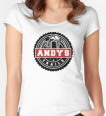 Cerveza Andy's Women's Fitted Scoop T-Shirt