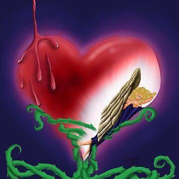 Angel's Heart by ArtFairie