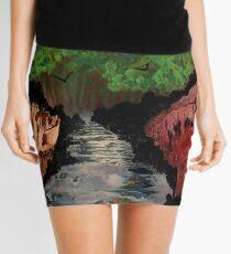 Towards the Dark Forest Mini Skirt