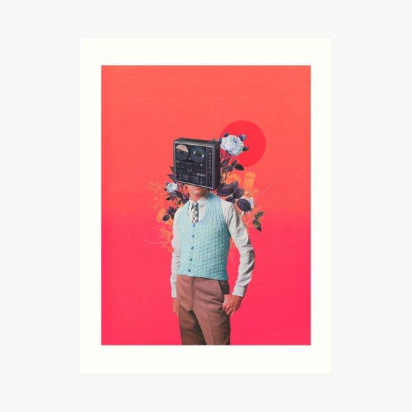 Phonohead Kunstdruck