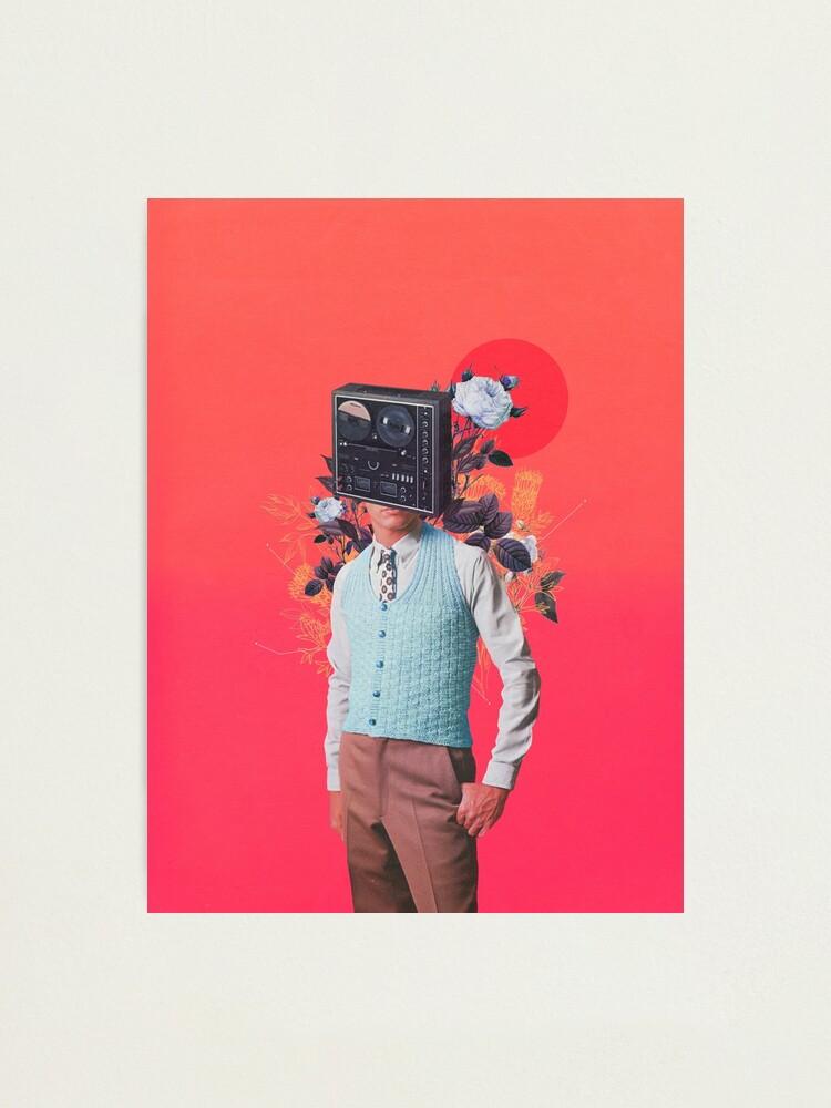 Alternate view of Phonohead Photographic Print