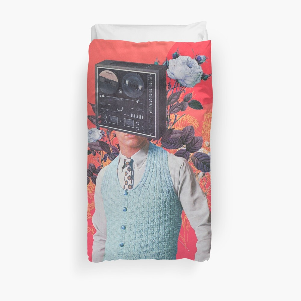 Phonohead Duvet Cover