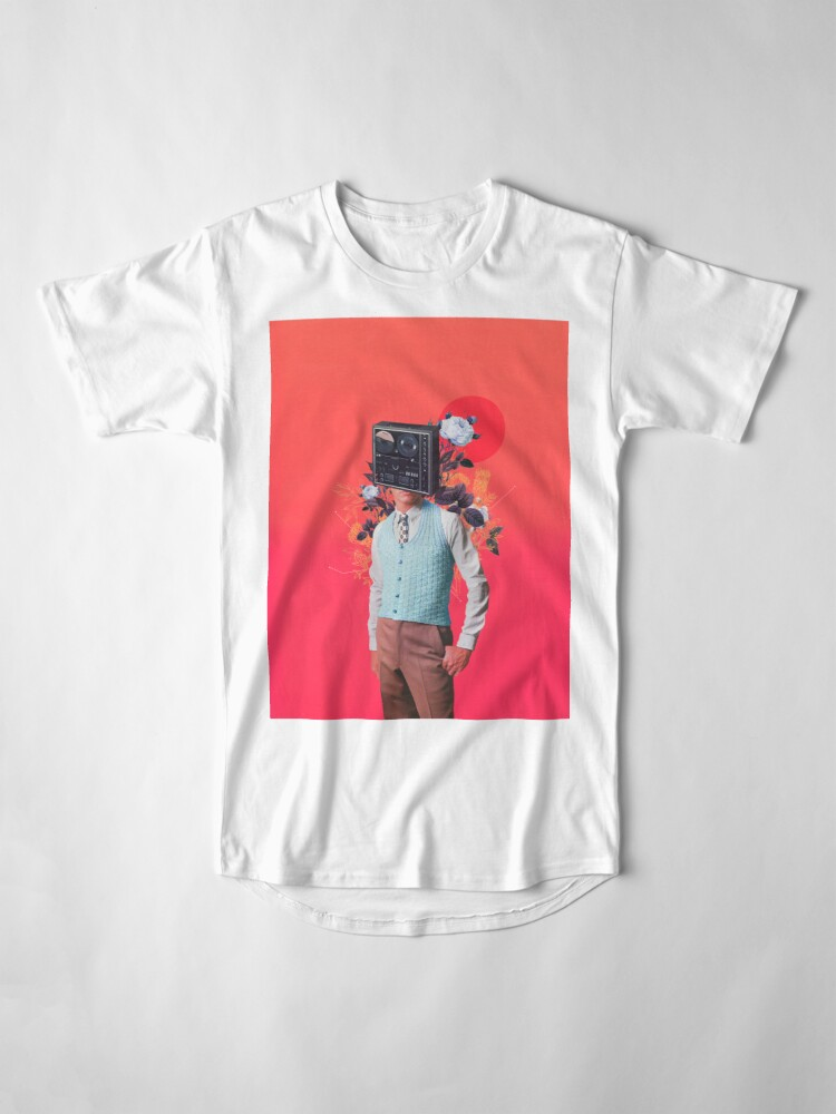 Alternate view of Phonohead Long T-Shirt