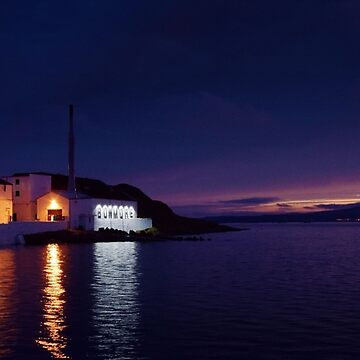 Bowmore Distillery at Night by eldram