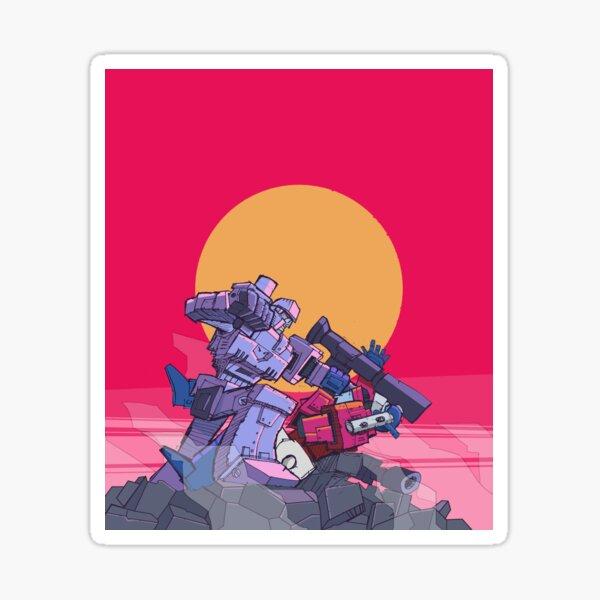 Victor Megatron Sticker