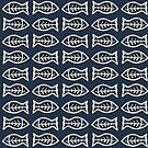 Ceramic Fishes by Madalena Lobao-Tello