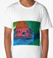 Angling for something Long T-Shirt