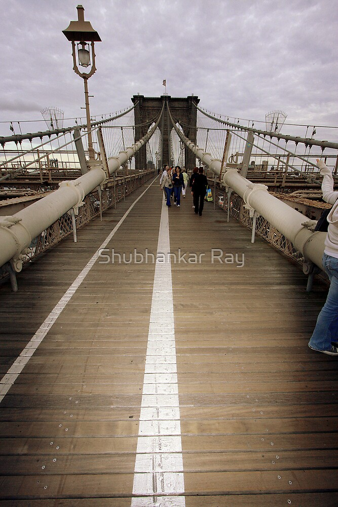 Brooklyn Bridge by Shubhankar Ray