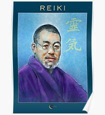 Reiki - Mikao Usui Poster