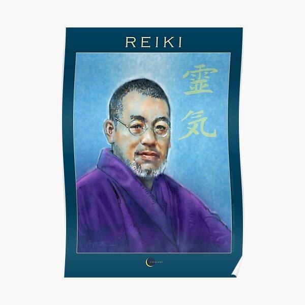 Reiki - Mikao Usui Póster