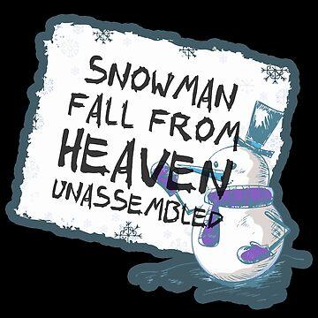 Snowman sky by NovaPaint