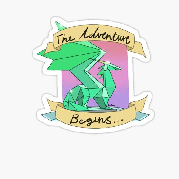 Crystal dragon  Sticker