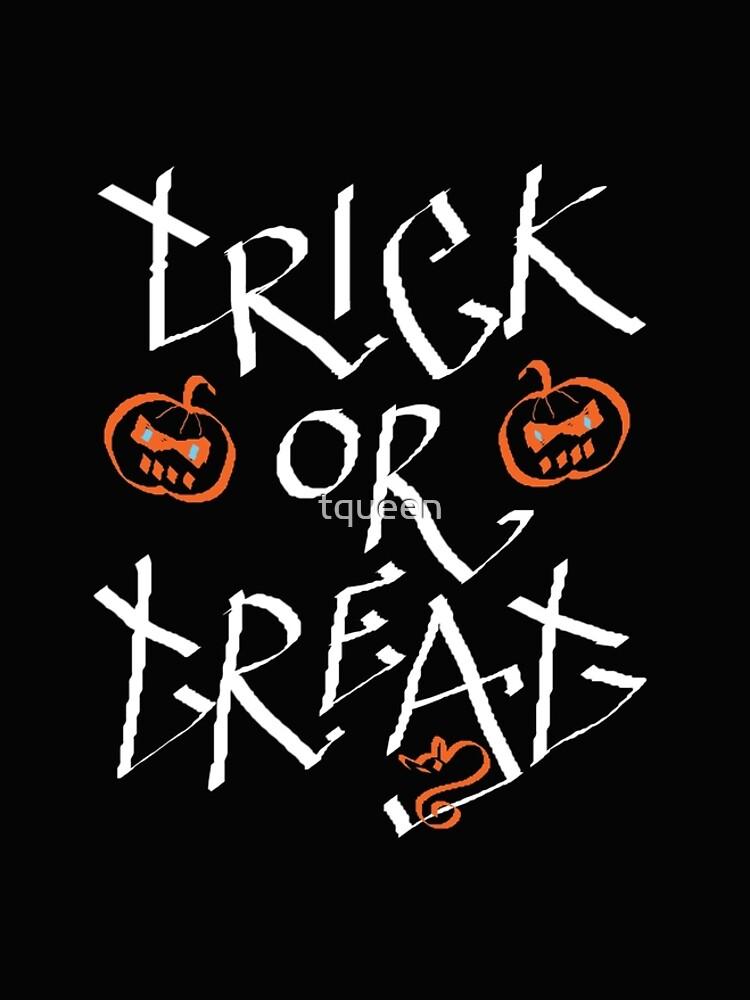 Trick or Treat pumpkin by tqueen