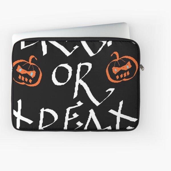 Trick or Treat pumpkin Laptop Sleeve