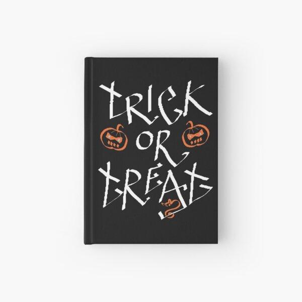 Trick or Treat pumpkin Hardcover Journal