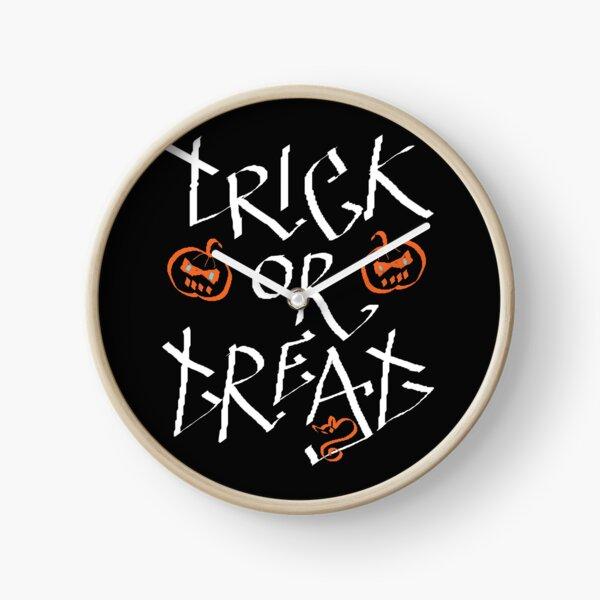 Trick or Treat pumpkin Clock