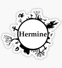 Halloween name Hermione Sticker