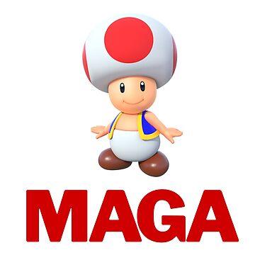 MAGA Toad by Eurozerozero