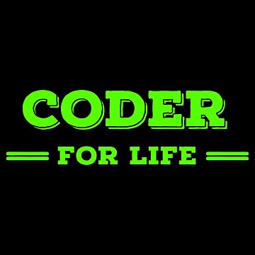 Lifer Coding T Shirts. Cool Gift Ideas for Coders. by Bronby