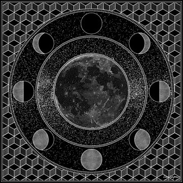 """""""Moon Mandala"""", by Brock Springstead by springstead"""