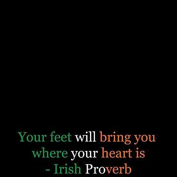 Irish Proverb by Shendz