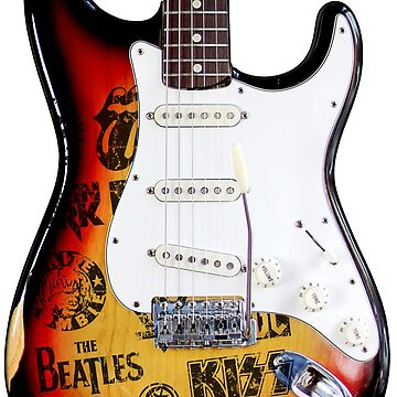 Stratocaster Classic Rock Guitar by LeoZitro