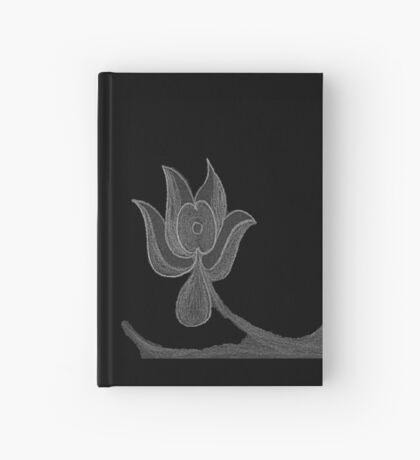 Lonely Dark Flower Hardcover Journal