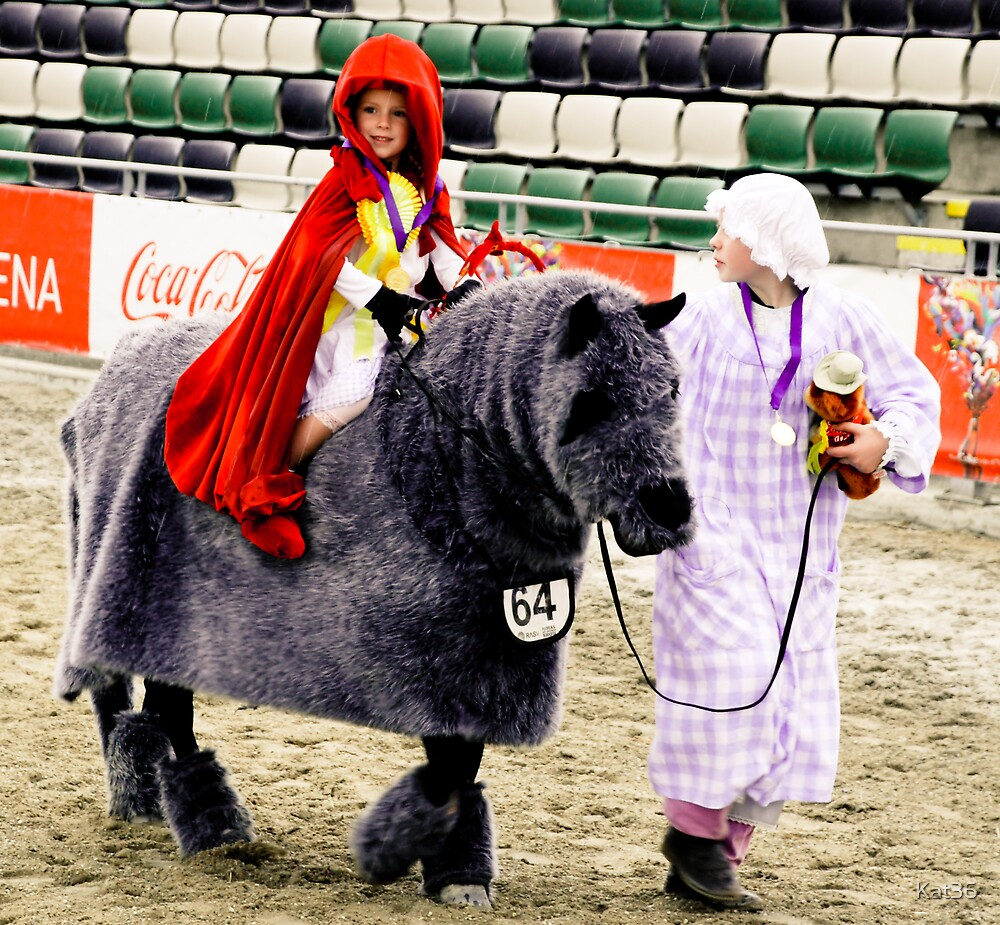 Little Red Riding Hood - Royal Melbourne Show - series (5) by Kat36