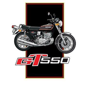 Suzuki GT550 by limey57