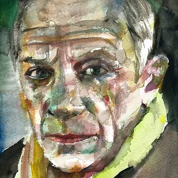 PABLO PICASSO - watercolor portrait.5 by lautir