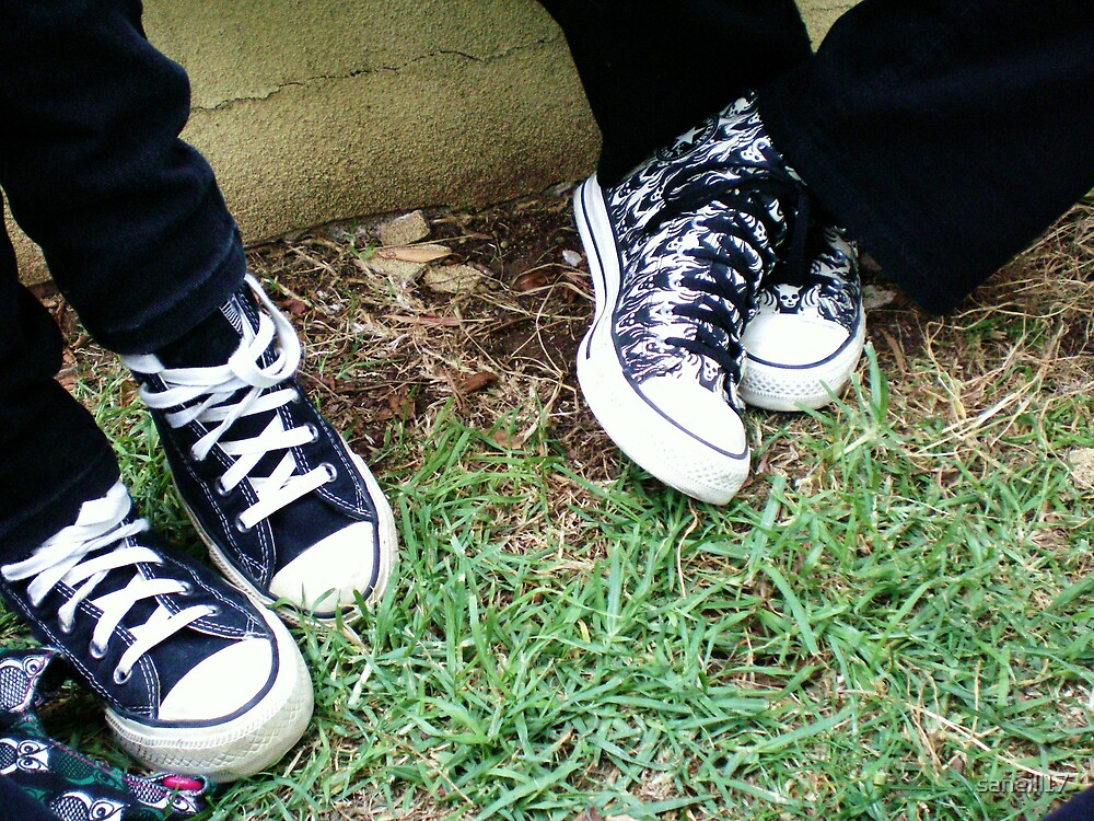 Converse for Life by saneill17