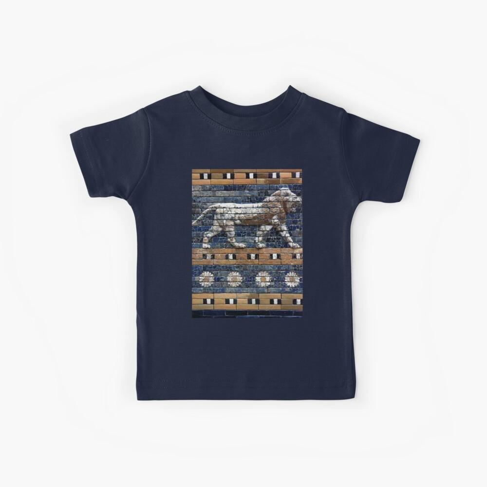 BABYLON, Gates of Babylon, Detail of the Ishtar Gate reconstruction Kids T-Shirt