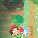 Little Red Riding Hood by SilveryDreams