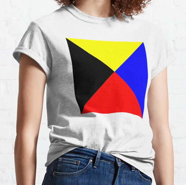 I require a tug. ICS Zulu, International Code of Signals. Classic T-Shirt